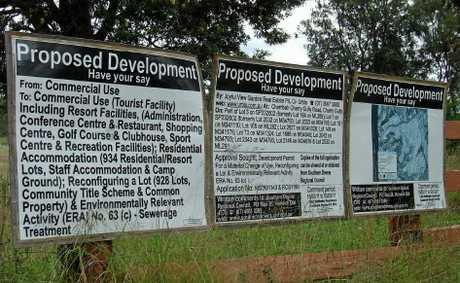 Plan for Cherrabah Resort.