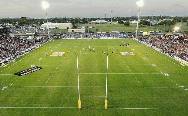 Mackay's Stadium.
