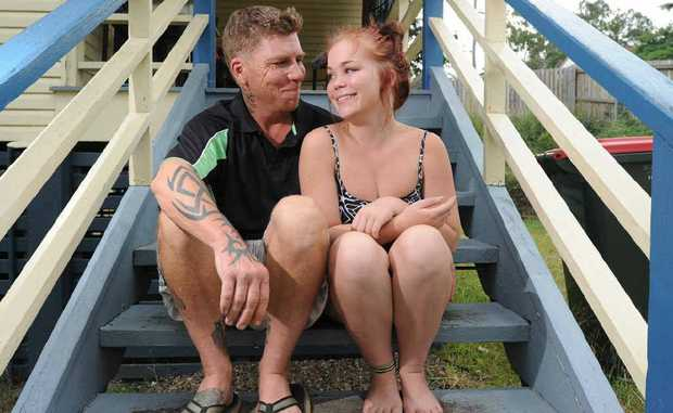 Clermont dad Scott Stephens was reunited with his daughter Karla for the first time in 15 years on Sunday. The two spent yesterday shopping and catching up in Gladstone.