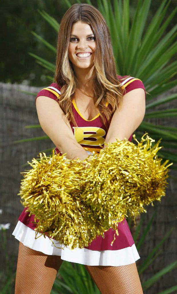 Danielle Svensson is in Big League magazine's Cheerleader of the Year contest.