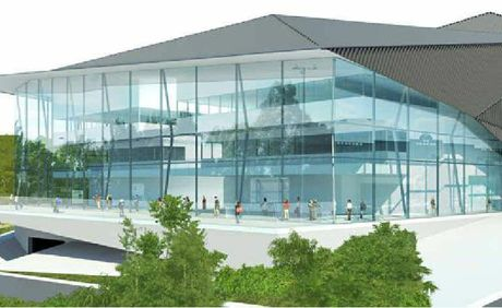 MAJOR VISION: How the Ipswich Performing Arts Centre could look.