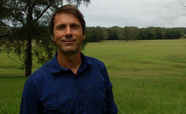 Mat Morris General Manager of North Byron Parklands on the approved site.