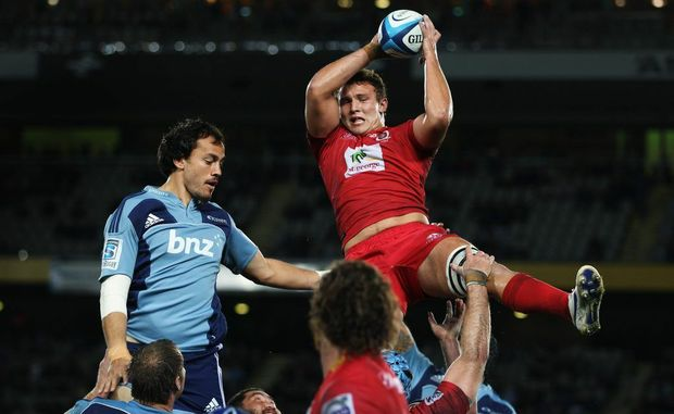 Blues are still without a second Super 15 win after falling 23-11 to the Reds at Auckland's Eden Park.