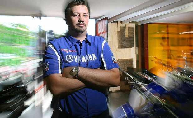 Top Gun Yamaha operations manager Nick Ruwhiu had his store broken into and had two motorcycles stolen.