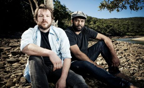 The Busby Marou boys won the Blues and Roots Work of the Year award at the APRA awards night on Monday.