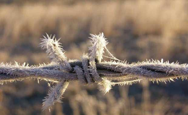 Jack Frost is on his way with well below average temperatures this week hitting parts of the Southern Downs.