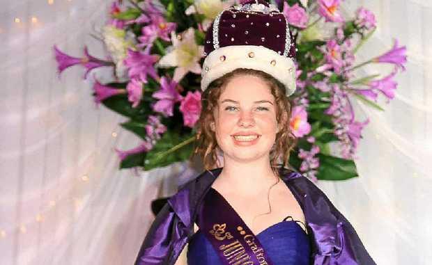 2011 Junior Jacaranda Queen Alexandria Thomson.