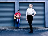 TOOWOOMBA musicians Erin Fitzsimon and Liam Falk hope their band's tunes will earn them a spot supporting some of Australia's most popular artists.