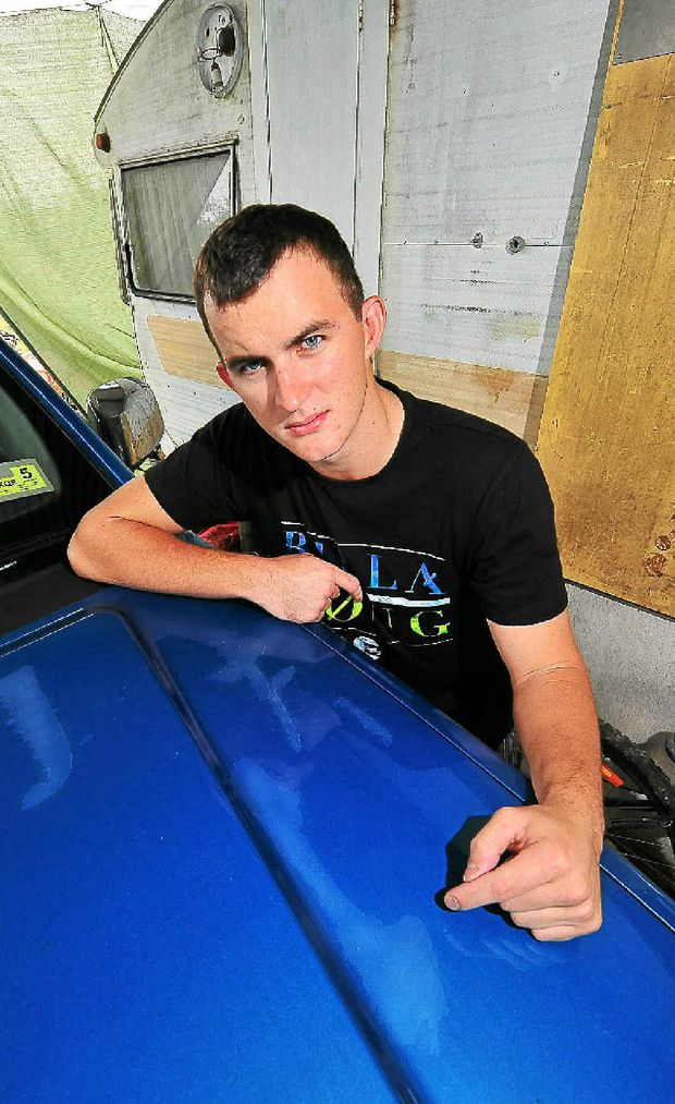 Jarred Fahy wants to warn people of the dangers of using hot car washes.