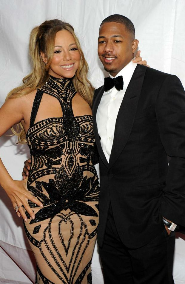 Mariah Carey and Nick Cannon.