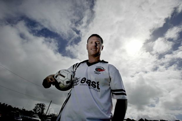Former Socceroo Craig Moore will take to the field for Richomnd Rovers against Goonellabah at Nielsen Park, East Lismore, on May 12th. Photo Cathy Adams / The Northern Star