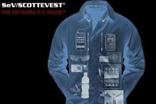 The 'Carry-on Coat' by ScotteVest. Photo / Supplied