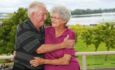 Nev and Shirley Austen of South Grafton - married for 60 years on May 3.