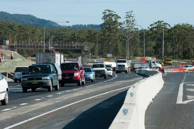 Caution is essential while negotiating Northern Beaches highway works this week.