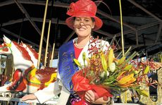 Lisa Green was named Miss Grafton Showgirl at the 146th annual Grafton Show on Saturday.