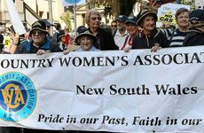 The NSW CWA marched for the first time in their 90-year history at the anti-coal seam gas rally in Sydney.