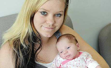 Tahleha Baptie's firstborn, daughter Skylah Sophia, was born prematurely with severe blood loss.