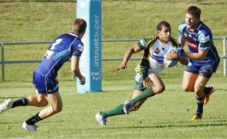 Ipswich Jets fullback Javarn White proved a menace to the Sunshine Coast defence on Saturday afternoon, scoring two tries in his team's 32-18 win.