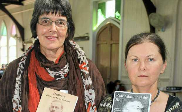 HISTORY: Stephany Evans Steggall and Anna Cameron wrote family histories.