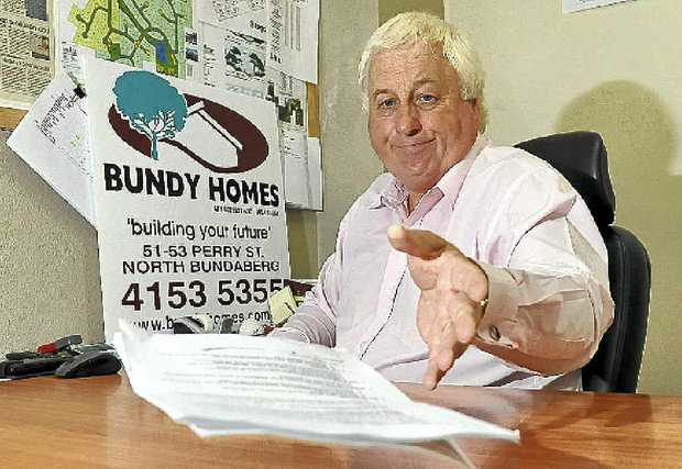 Bundy Homes' Michael Randall is disappointed with the Federal Budget.