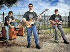 Tusky band members Karel Fehr, Jay Furnish and Richard Gorter.