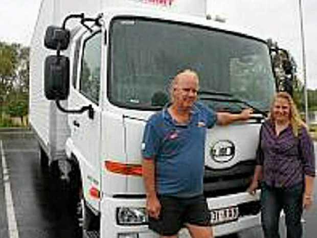 HAPPY CUSTOMERS: Ian and Sheree Jones with their UD MK 11 250.