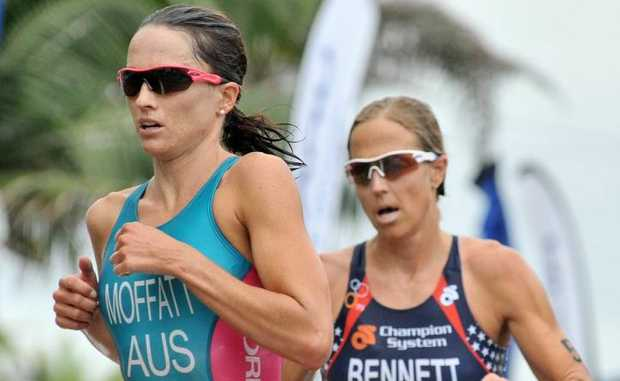Last night's top 10 finish in the USA has Emma Moffatt on target for the London Olympics.