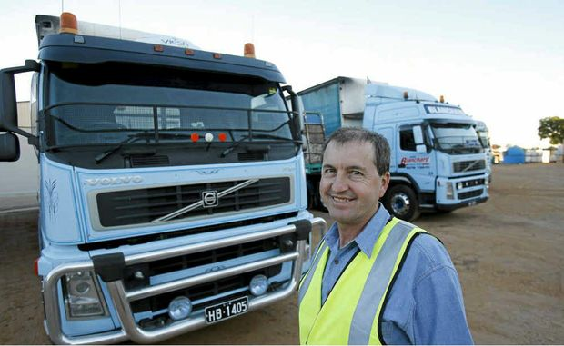 Robert Blanchard, CEO of Blanchard Haulage, loves roadworks for the improvements they represent.