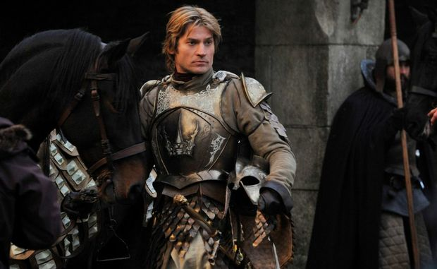 Nikolaj Coster as Jaime Lannister in Game of Thrones.
