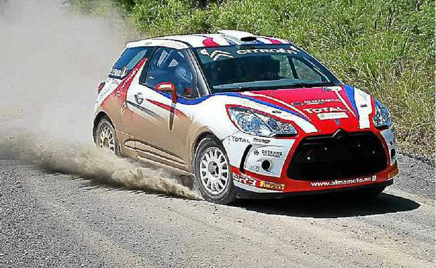 Jean-Louis Leyraud, New Caledonia-based Frenchman, driving a new Citroen DS3 capable of 200kmh will be in the International Rally of Queensland.