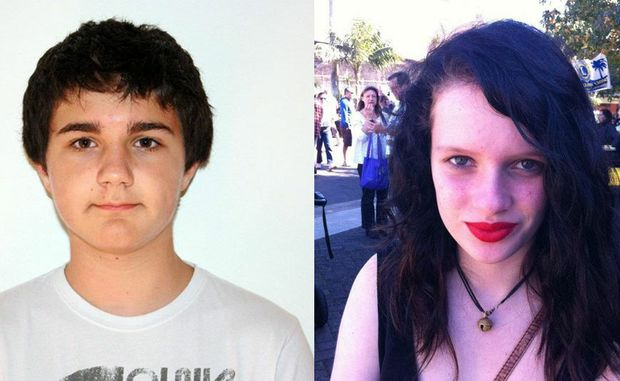 Lucas Bollard and Sophie McGregor, both aged 14, have not been since they left their Botany homes on the weekend.