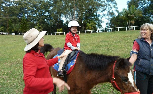 Five-year-old Angus Webb has been named Riding For the Disabled's Rider of the Year.