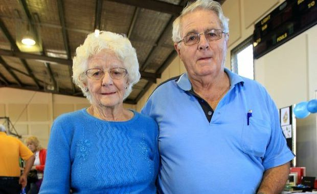 Pensioners Dorothy and Leo Burns feel the federal government could do more for them.