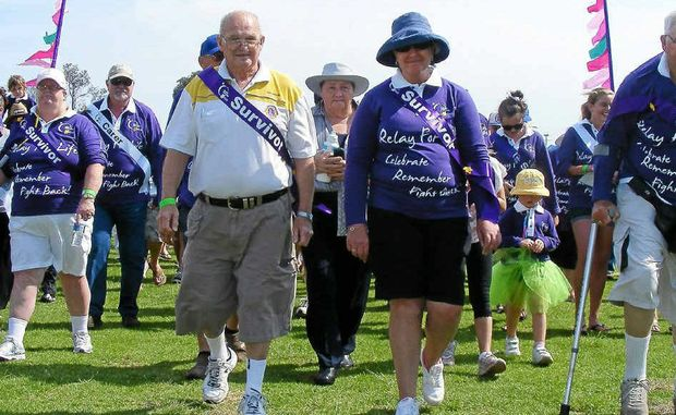 AND THEY'RE OFF: Pictured is the start of last year's Relay for Life in Ballina. It's on again this year.