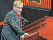 AT 65, he may be approaching retirement age, but Elton John has lost none of his wit and playfulness.