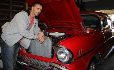 Dale Randall is entering his 1957 Chevrolet in Show and Shine this weekend.