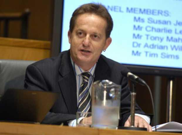 Tony Maher has hit back at BHP chairman Jac Nasser.
