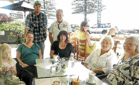 Four generations of the Crump family got together for Mother's Day breakfast at Sunrise Cafe.