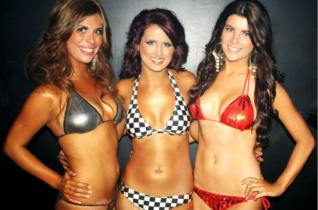 The winners of the heat three finals are (from left) Leandi Booysen, Vanessa Coonan and Shaylee Smith.