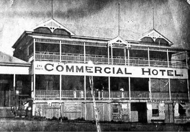 The Commercial Hotel, Eumundi, now Joe's Waterhole.