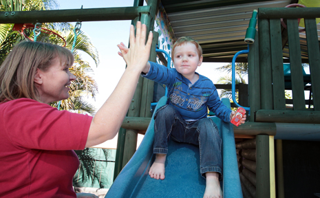 HELP NEEDED: Vanessa McPherson with her son Fergus who has autism and is in need of an assistance dog.