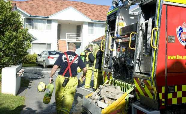 Coffs Harbour firefighters respond to a unit fire at Opal Cove this afternoon around 2pm.