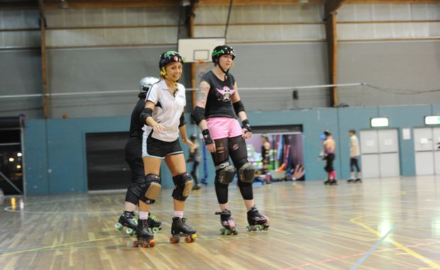 Observer reporter Emily Blatchford spends a day in the life of a roller derby skater with Candy Contusions.