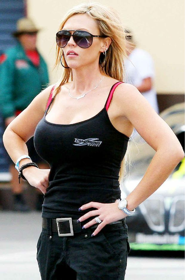 Kirsten Tucker is excited about following other women into the drag racing hot seat.