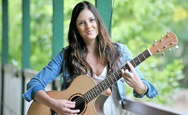 Country-pop musician Taylor Moss, a winner at the Urban Country Music Talent Search.