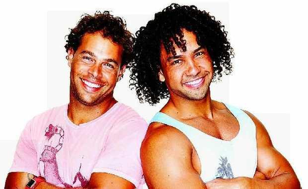 The Amazing Race Australia series 2 contestants Adam and Dane Corowa.