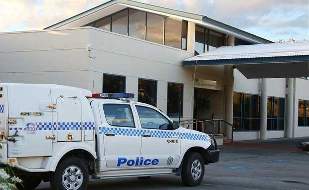 Police rushed to the Woolgoolga Bowling Club after a daring early morning armed robbery.