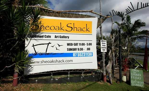 Sheoak Shack. Photo: John Gass / Daily News