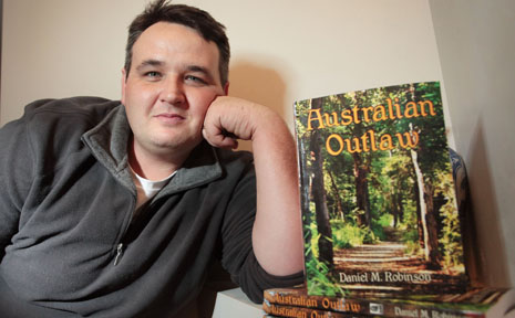 Goodna local author Daniel M. Robinson has recently published his first book; Australian Outlaw.