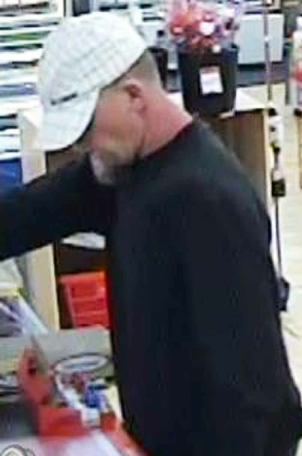Suspect in the armed robbery at Bundamba.